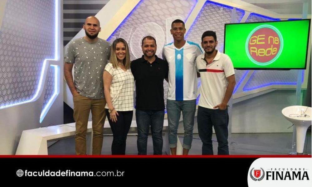 Professores da FINAMA participam de programa e concedem entrevista ao GloboEsporte.com