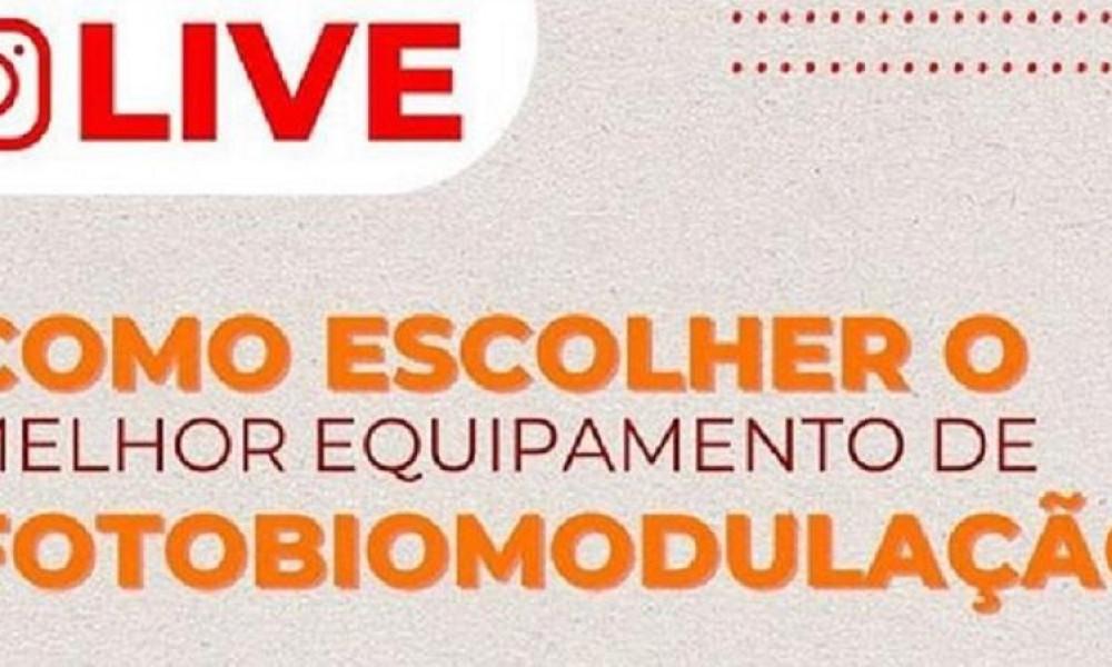 Diretor e professora da FINAMA tiram dúvidas sobre fotobiomodulação em live