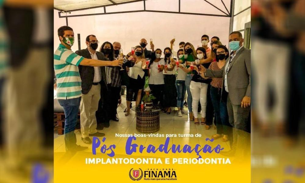 """AULA INAUGURAL da especialização em """"Implantodontia e Periodontia"""": FINAMA é a única instituição no Brasil com dupla certificação"""